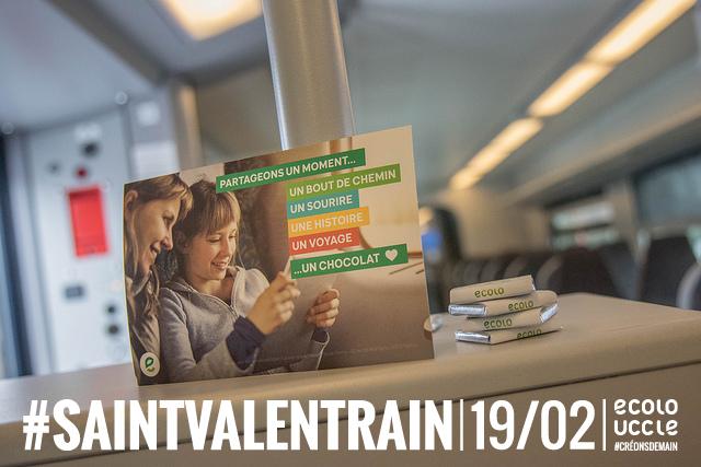 La Saint-Valentrain 2018 dans les gares uccloises