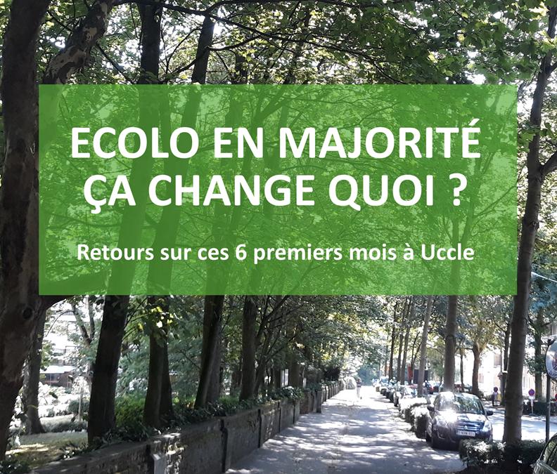 Ecolo en majorité à Uccle, ça change quoi ? 🤔🌿