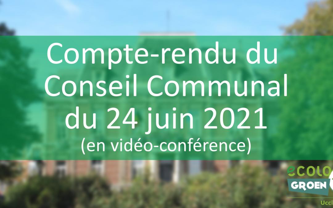 Conseil Communal du 24/06/21 : 2,5 M€ pour la mobilité, Chéques-Sport/Culture et succès de la Vélothèque